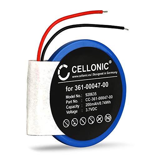 Cellonic Batterie Premium Compatible avec Garmin Approach S1 Approach S3 Approach S4 Garmin Forerunner 110 Forerunner 210 Forerunner S1, Accu Rechange 361-00047-00 361-00064-00 200mAh Remplacement