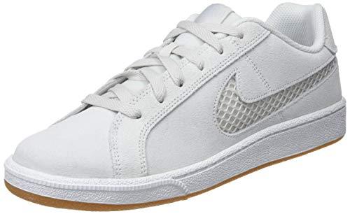 Nike Court Royale Premium, Chaussures de Tennis Femme, Blanc (Platinum Tint/Half Blue 003), 41 EU