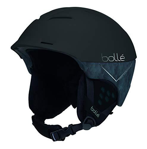 Bollé - SYNERGY - Casque de ski - Mixte - Adulte - Noir Mat Forêt - 58 - 61CM