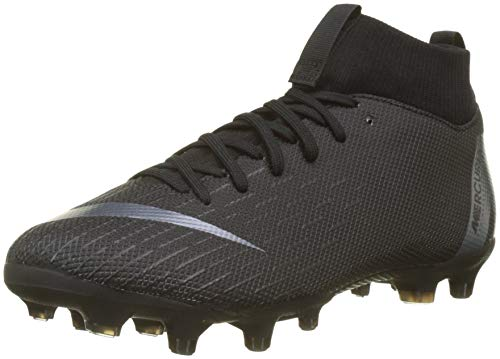 Nike Jr Superfly 6 Academy GS FG/MG, Chaussures de Futsal Mixte Enfant, Noir Black 001, 32 EU