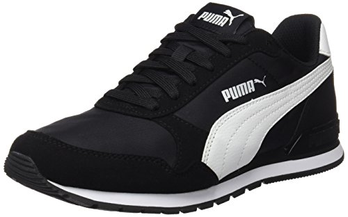 Puma St Runner v2 NL Chaussures de Cross Mixte Adulte, Noir Black White, 45 EU