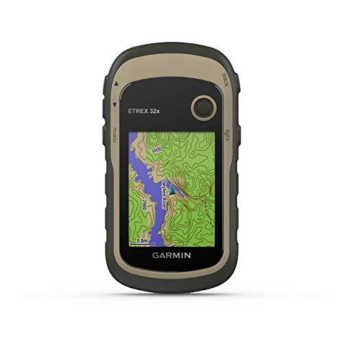 Garmin - eTrex 32x - GPS de randonnée avec cartographie TopoActive Europe préchargée avec routes et sentiers routables - Compas électronique et altimètre barométrique - Vert