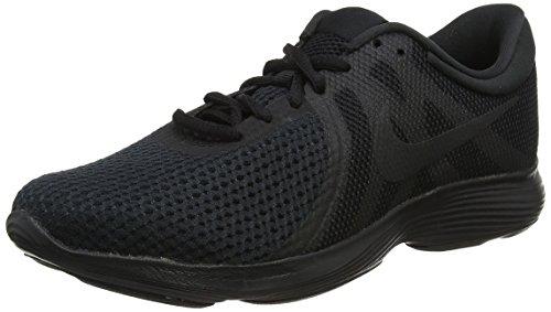 Nike Revolution 4, Chaussures de  Running homme - Noir (Black/Black 002), 43 EU (8.5 UK)