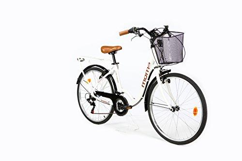 Moma Bikes, Vélo de Ville City Classic 26', Aluminium SHIMANO 18V