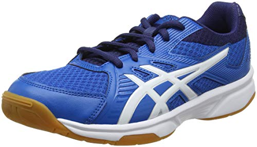 ASICS Upcourt 3, Chaussures de Volleyball Homme, Multicolore (Race Blue/White 400), 44 EU
