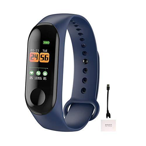 Fitness Tracker IP68 Étanche, Bracelet Intelligent Soutien Sportif Podomètre Fréquence Cardiaque Surveillance, Smart Bracelet Montre pour Android iOS pour Femme Homme Enfant Fitness