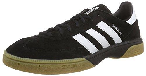 Adidas Performance Hb Spezial, Handball Adulte Mixte - Noir (Black 1/Running White/Black 1) - 44 EU (Taille Fabricant : 9.5 UK)