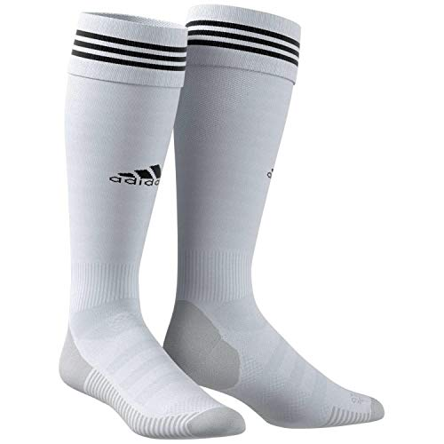 adidas ADI Sock 18 Chaussettes Mixte Adulte, Clear Grey/Black, FR : M (Taille Fabricant : 3739)