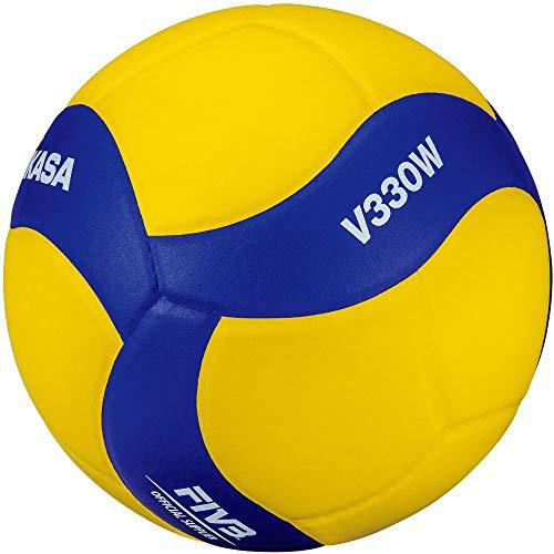 MIKASA V330W Ballon de Volley-Ball Bleu 5