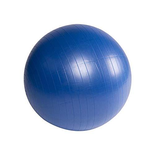 BIGTREE Ballon Fitness, de Gymnastique Balle, Yoga Pilates Core Training,de Yoga avec Pompe, Bleu, 55 cm