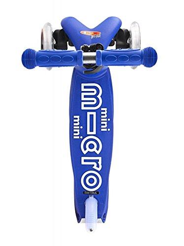 Micro Mobility - Trottinette Mini Micro Deluxe Bleu - Trottinette Enfant au design original - De 2 à 5 ans - Bleu