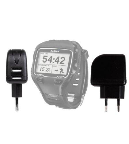Chargeur Secteur de voyage USB puissant (charge rapide 2 Amp) DURAGADGET pour montre connectée Garmin Forerunner 910XT, Foretrex 301, Foretrex 401, Quatix et Garmin Tactix