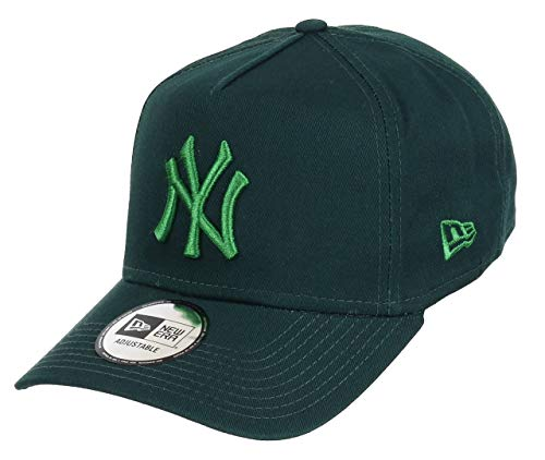 New Era New York Yankees Adjustable A Frame Cap League Essential Dark Green/Green - One-Size