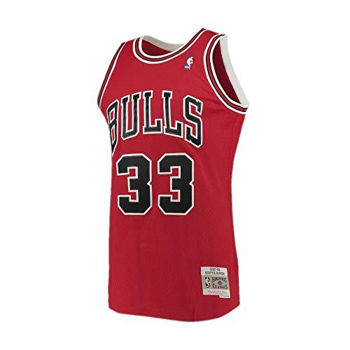 Mitchell & Ness Chicago Bulls Scottie Pipen débardeur red