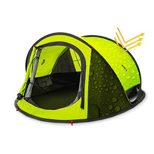 Zenph Tente Camping pour 2-3 Personnes Automatique, Pop Up Ouverture Rapide Tente instantanée Camping Randonnée Familiale Exterieur