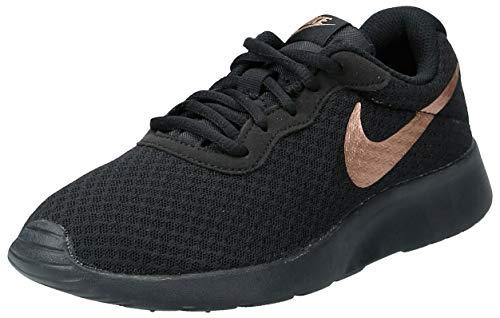 Nike WMNS Tanjun, Chaussures d'Athlétisme Femme, Multicolore (Black/MTLC Red Bronze 005), 36.5 EU