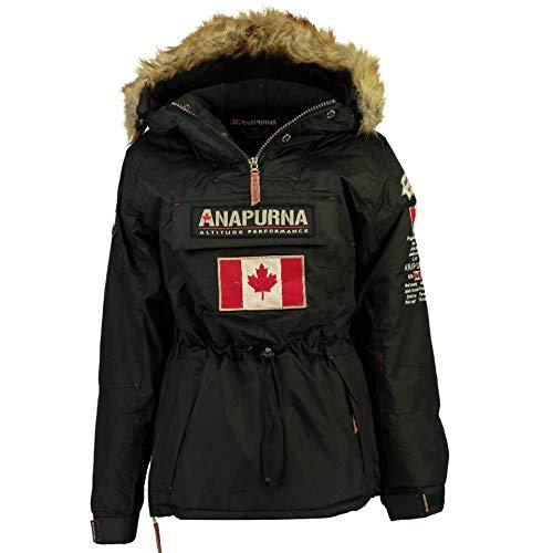 Anapurna - Veste de Ski - Chasuble - Femme - Rouge (1, Black)