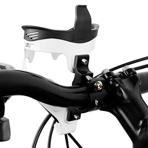 BV Adaptateur en métal pour Porte-bidon Fixation sur Le Guidon de vélo Support Bouteille bidon Gourde pour Velo