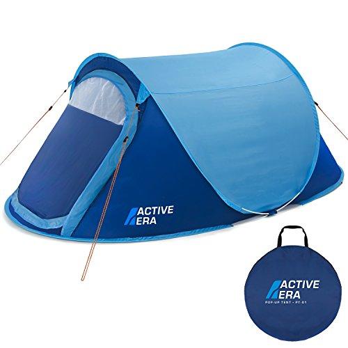 Active Era Grande Tente Instantanée pour Deux Personnes - Imperméable, Ventilée et Durable