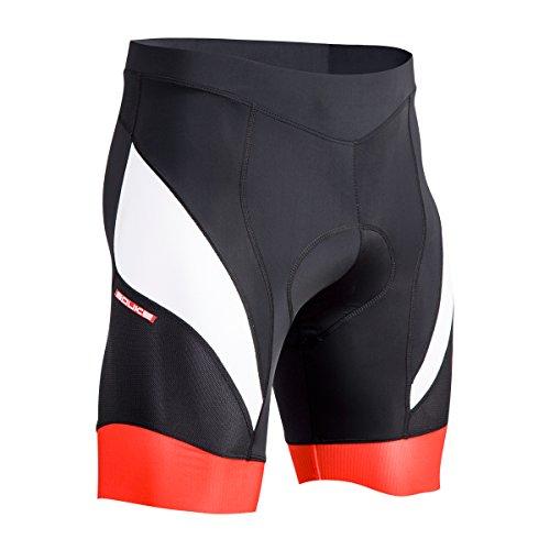 Souke Sports Short de Cyclisme Homme Séchage Rapide de 4D Rembourré Confortable Short Cycliste Homme