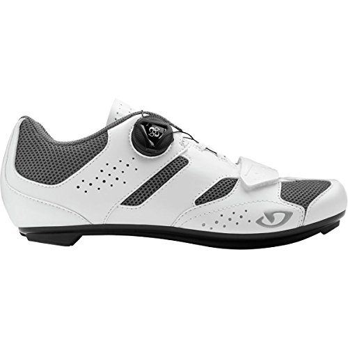Giro Savix Road, Chaussures de Vélo de Route Femme, Multicolore (White/Titanium 000), 39 EU