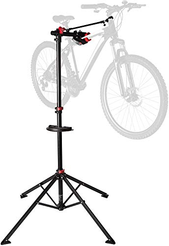 Ultrasport Support de montage robuste pour vélos Expert, convient également pour les VTT - Stand de réparation pour les vélos ne dépassant pas 30 kg, avec des fonctions utiles pour la réparation