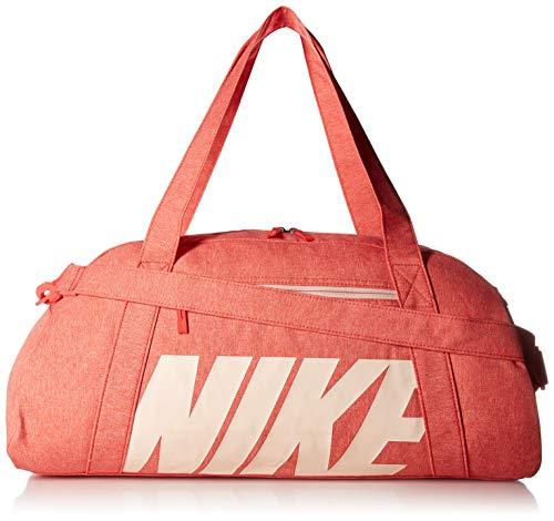 Nike W NK Gym Club Sac Femme, Multicolore (Embr GLW/Wshd Coral), 24x15x45 centimeters (W x H x L)