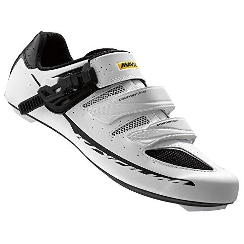 MAVIC Ksyrium Elite Chaussures de vélo Maxi blanc/noir 2016 44.5 EU
