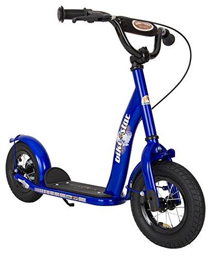 BIKESTAR Trottinette enfant 2 roues pour garcons et filles de 4-6 ans | Patinette 10 pouces classique avec grande roues pneumatique | Bleu