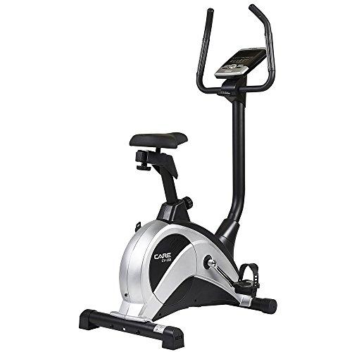 CARE FITNESS - CV-355 - Vélo d'Appartements Cardio - Roue Inertie 9 kg - Résistance 16 Niveaux - 24 Programmes d'Entraînement