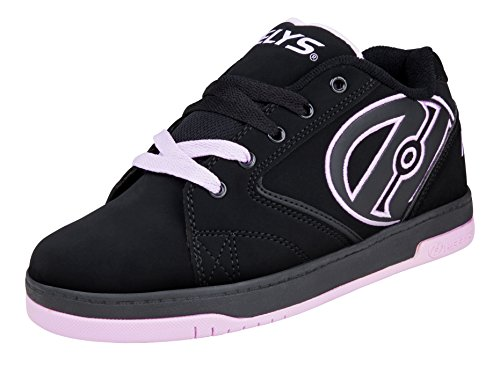 Heelys Propel 2.0 770516, Sneakers basses mixte adulte - Multicolore (Black/Lilac) - 36.5 EU (Taille Fabricant : 4 UK)