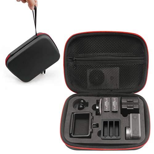 Kismaple Imperméable Housse Etui de Transport pour DJI Osmo Action Cam, Cadre de la caméra, Base à dégagement Rapide, Batterie, Câble et Autres Accessoires Sac de Rangement