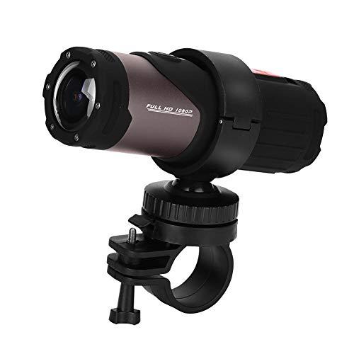 Richer-R HD 1080P Mini Sport DV caméra, caméra de Casque de Moto de vélo étanche 12MP 10M, WiFi Mini Casque de caméra de vélo vélo Casque numérique caméra vidéo pour Le Sport en Plein air
