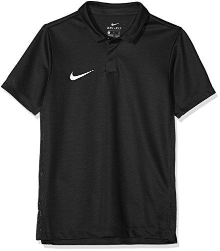 Nike Academy18 Polo d'entrainement Mixte Enfant, Noir/Anthracite/Blanc, FR : M (Taille Fabricant : M)