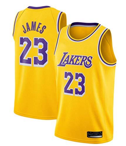 SansFin Lebron James, Le Basket Jersey, Lakers, Nouveau Tissu Brodé, Style Sportswear