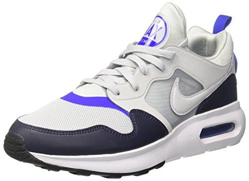 Nike Air Max Prime, Baskets Mode Homme, Argent Pure Gris Platinum-Racer Blue-O, 43 EU