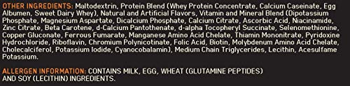OPTIMUM NUTRITION Serious Mass Protéine Vanille 2.73 kg