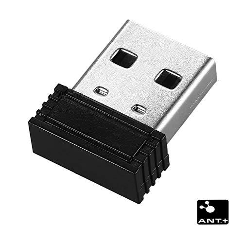 TAOPE Ant+ Récepteur USB Stick, Adaptateur Dongle pour Zwift, Garmin, Suunto, Zwift, PerfPRO Studio RC401
