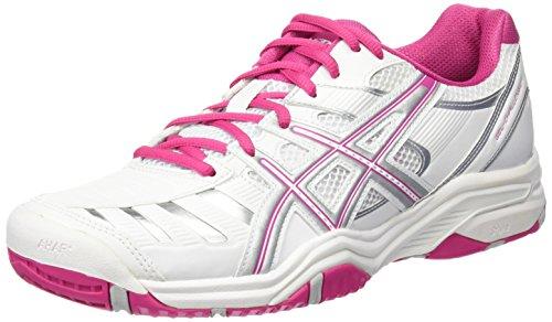 ASICS Gel-Challenger 9, Chaussures de Tennis Femme, Blanc (White 0119), 39.5 EU