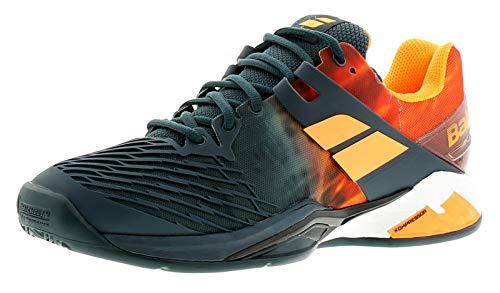 Babolat Propulse Fury Clay, Chaussures de Tennis Homme, de Plusieurs Couleurs (Blanc/Noir), 40 EU