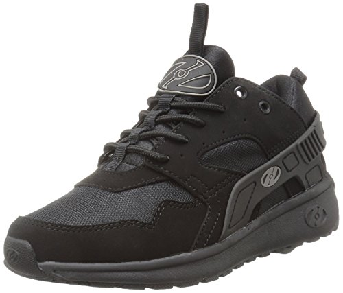 Heelys Force, Baskets Mixte Enfant, Noir Black, 35 EU