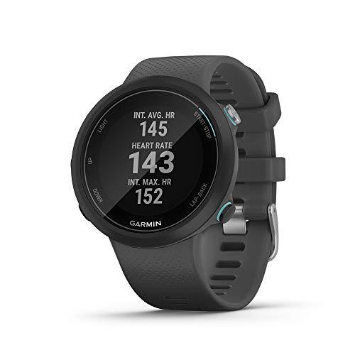 Garmin Swim 2 - 010-02247-10 - Montre GPS Connectée de Natation pour la Piscine et la Nage en Eau Libre, Noir
