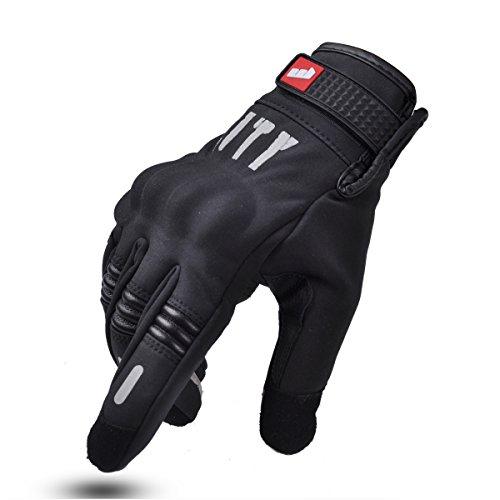 Madbike Gants de moto pour écran tactile M palm without hole