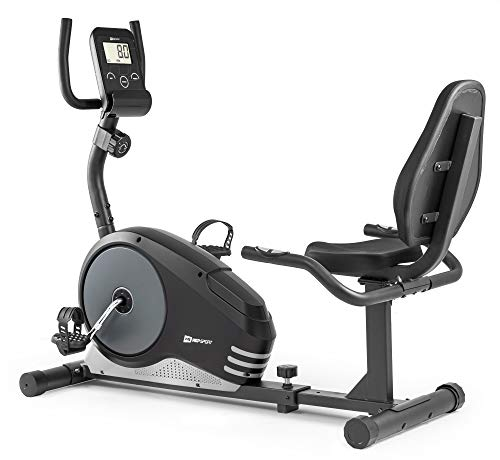 Hop-Sport Vélo d'Appartement Semi-allongé HS-040L Root vélo Assis Max 120 kg