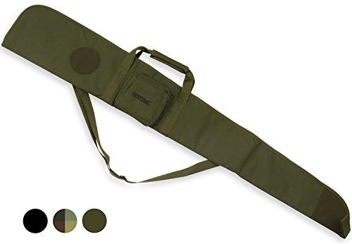 Housse de protection et de transport pour fusil à air comprimé//fusil de chasse - rembourré - Vert olive