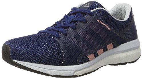 adidas Adizero Tempo W Chaussures de Course Femme, Bleu (Mysblu/stibre/ntnavy) 42 EU