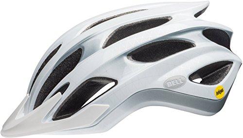 Bell Mixte - Adulte Drifter MIPS Casque de vélo Blanc/Argent/Noir L