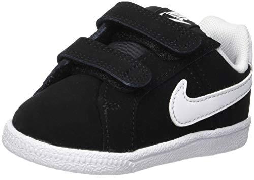 Nike Court Royale (TDV), Chaussures de Tennis Mixte Enfant, Noir (Black/White 002), 25 EU