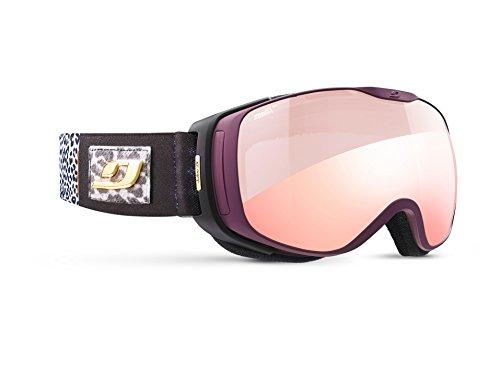 Julbo Luna Masque de Ski avec écran REACTIV Photochromique Femme, Violet Panthère, M