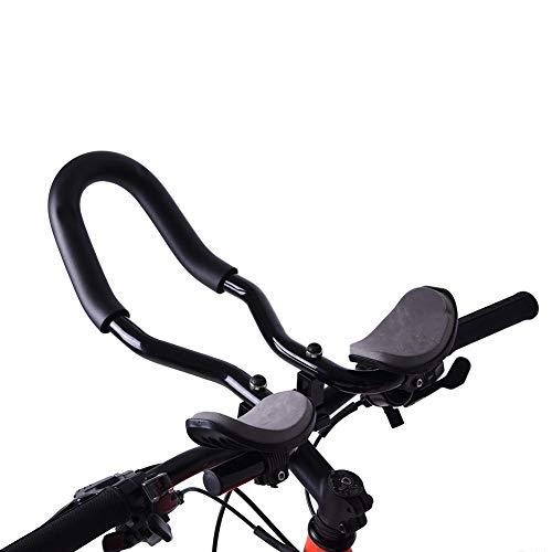 Bnineteenteam Repose-Bicyclette Guidon en Alliage d'aluminium TT avec Coussin en éponge pour vélo de Montagne, vélo de Route